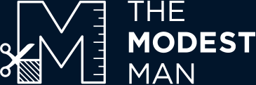 The Modest Man logo