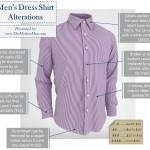 Men's Dress Shirt Alterations