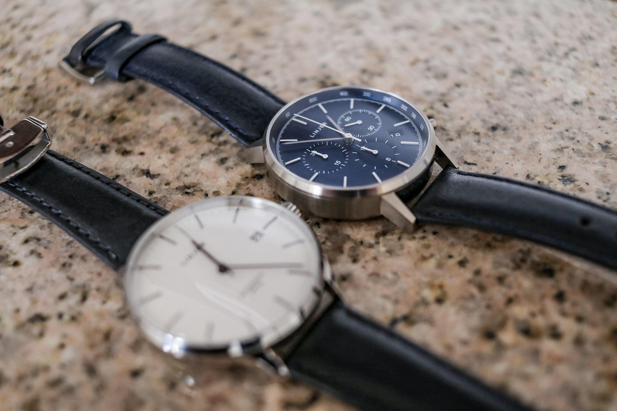Linjer chronometer blue