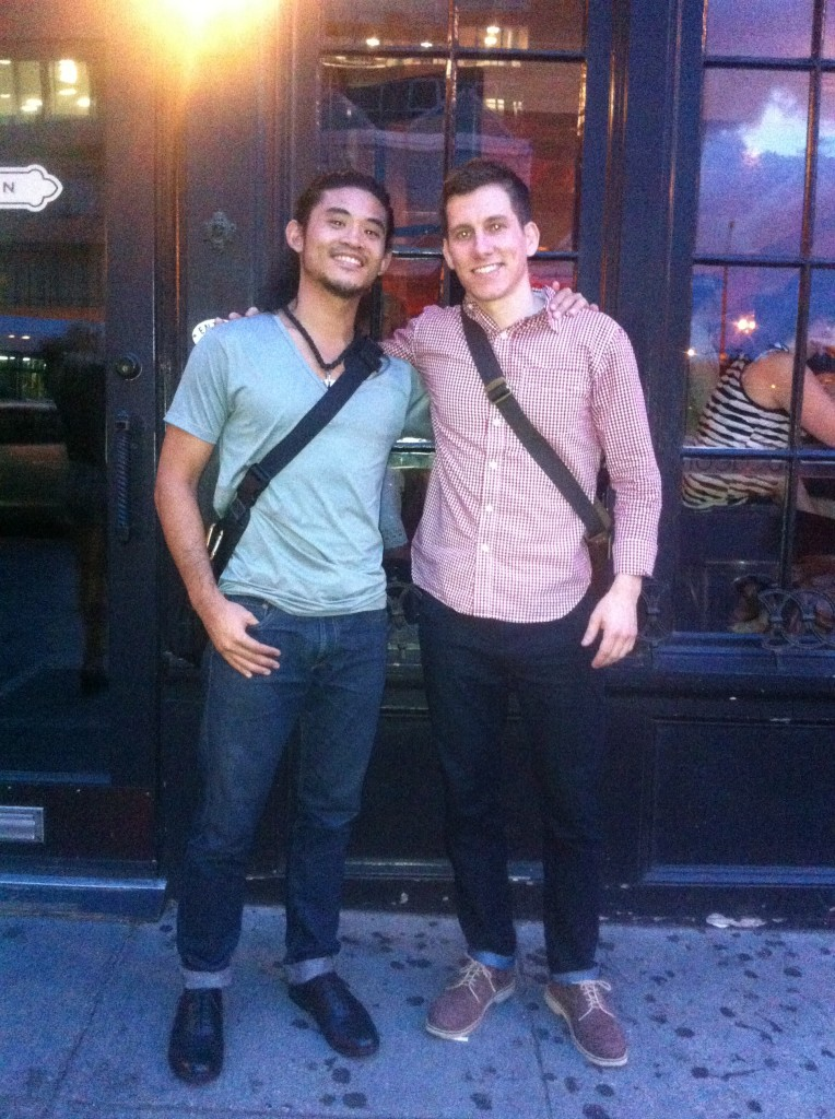 Brock and Evan