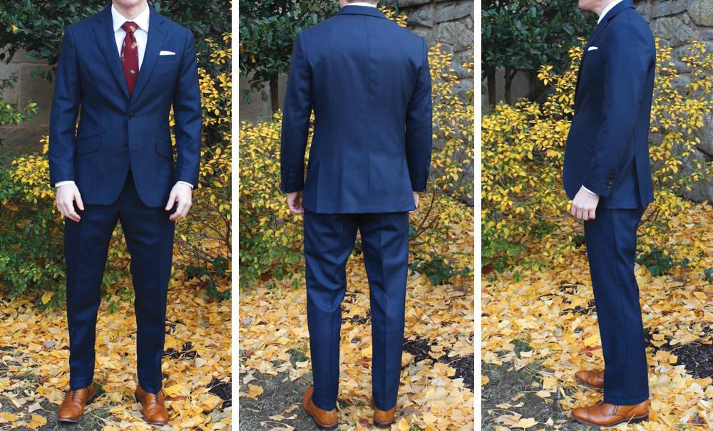 Dragon Inside Suit Fit