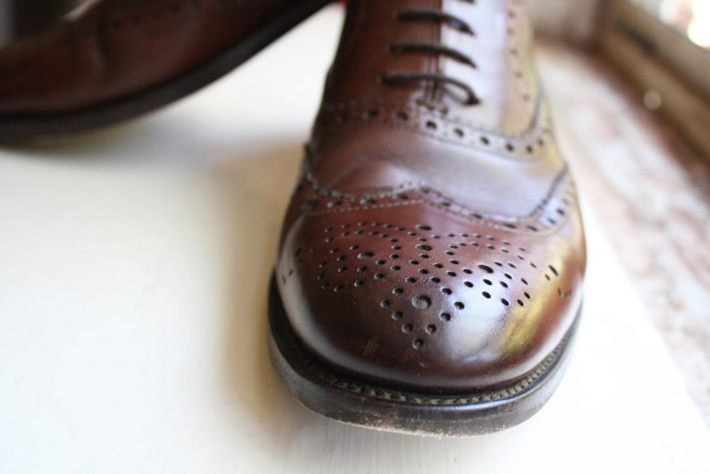 Shoe Passion toe close up