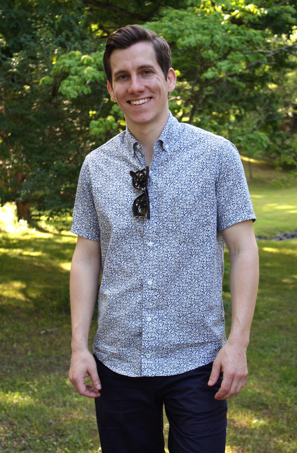 Peter Manning short sleeve button up