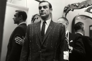 Sean Connery suit fitting
