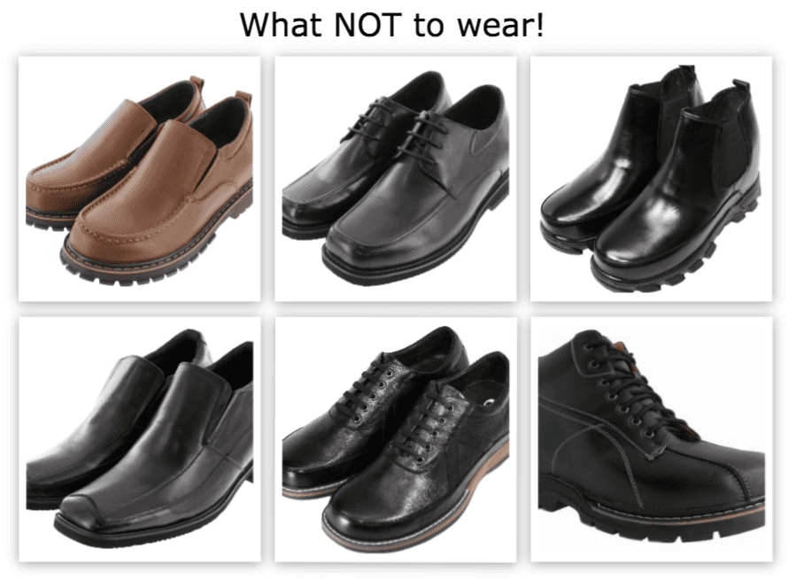 Ugly shoes for men