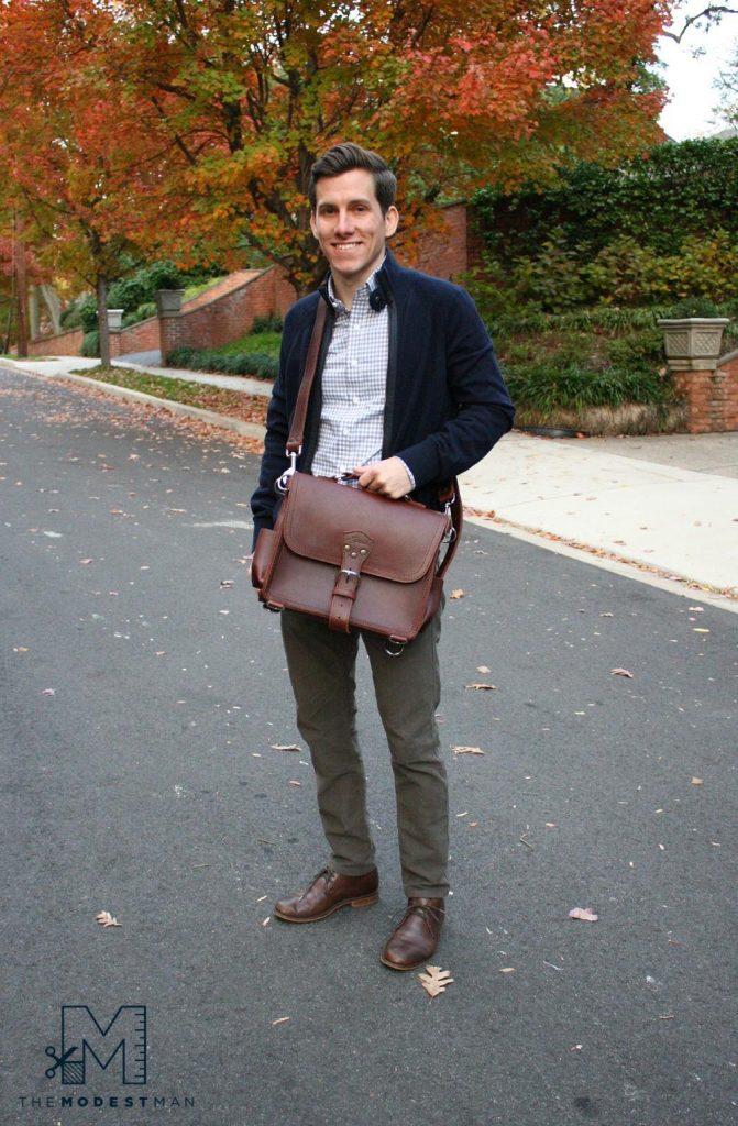 Saddleback medium satchel