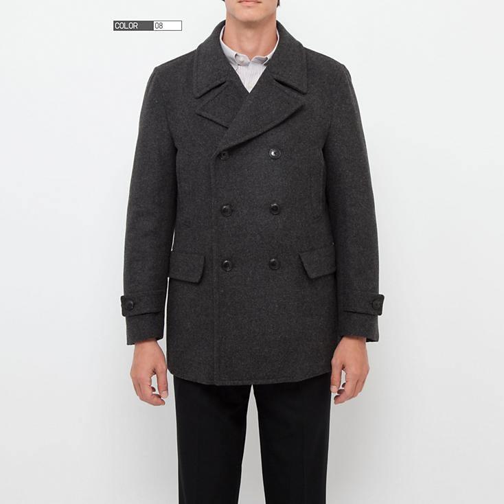 Uniqlo pea coat
