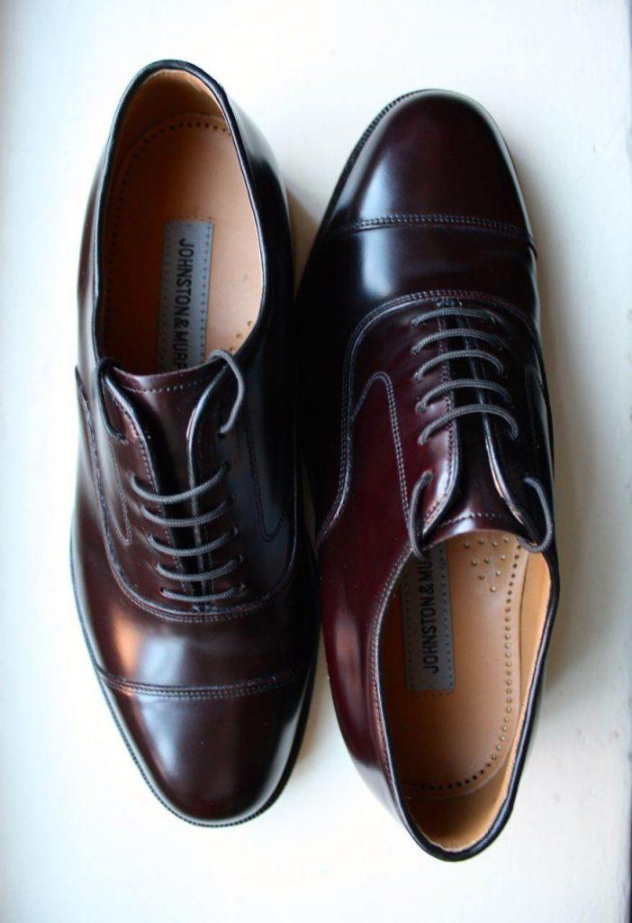 Johnston and Murphy Melton cap toe Oxford
