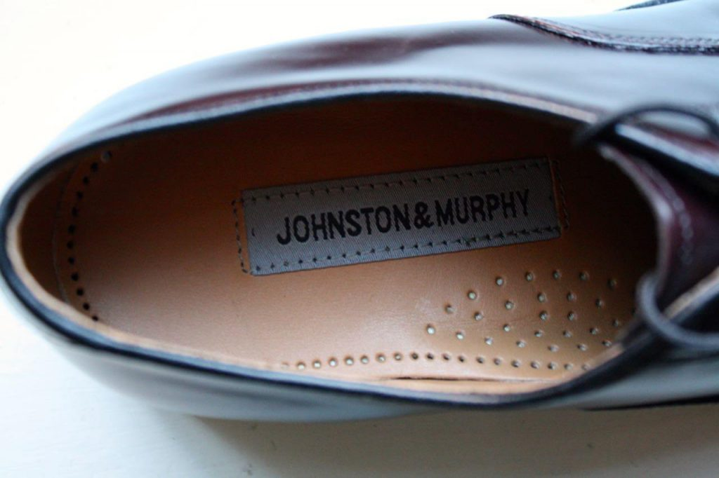 Johnston and Murphy label