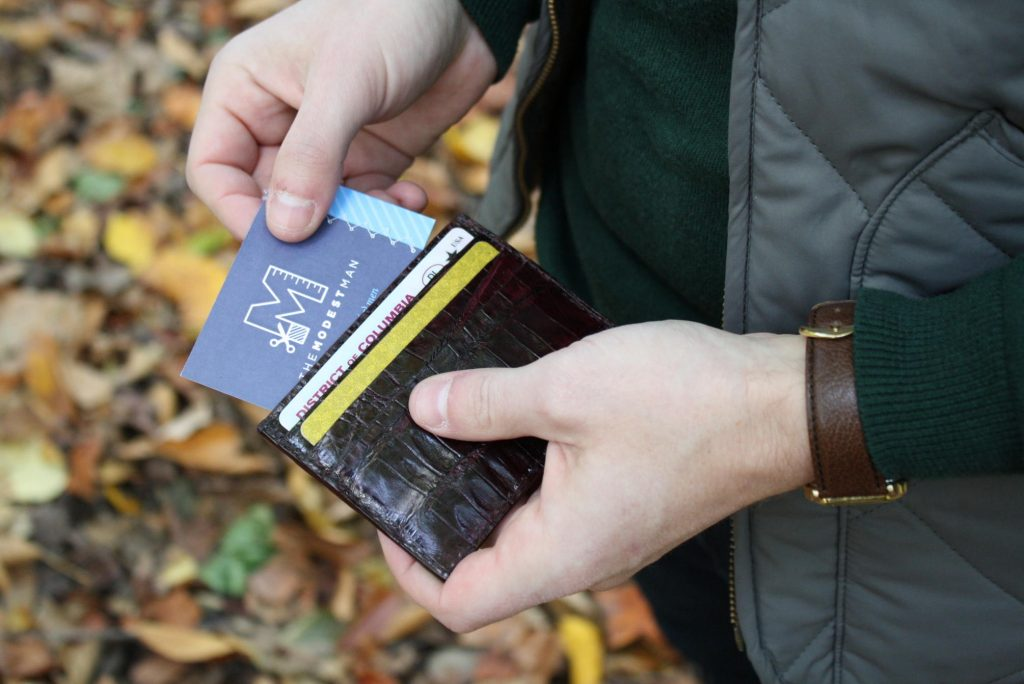 Jay Butler Card Case