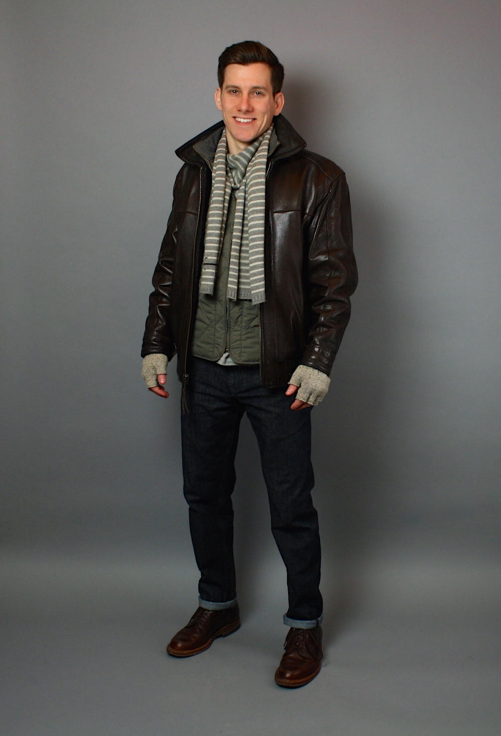 Of course, there are many different types of leather jackets. Some are