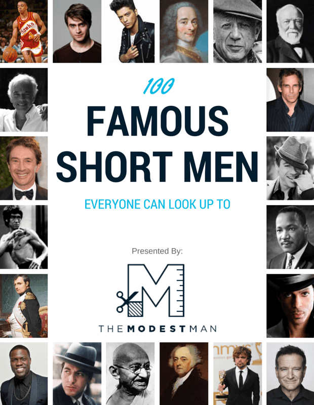 100 Famous Short Men By Height I started a podcast with comedian/friend matt bergman! 100 famous short men by height