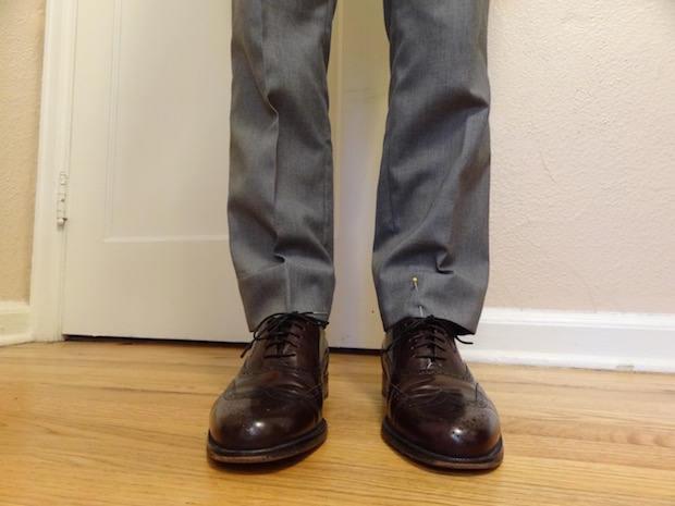 Hem Dress Pants 1