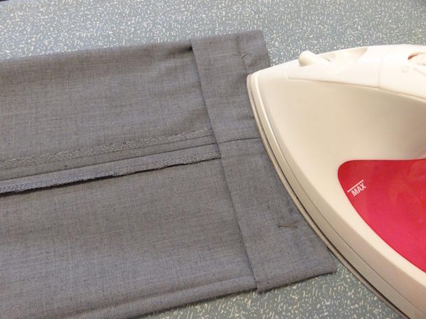 hemming without sewing machine