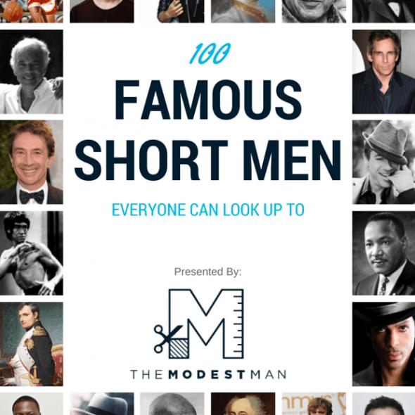 Famous short men