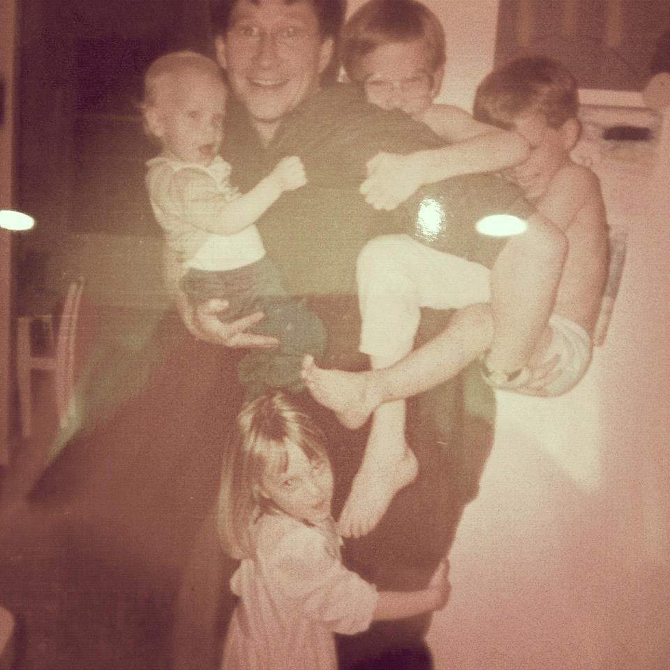 My dad and siblings