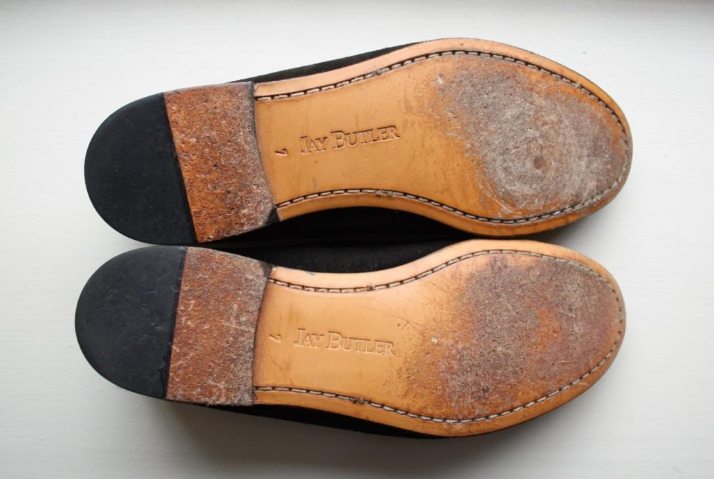 Jay Butler Shipley Tie loafers bottom