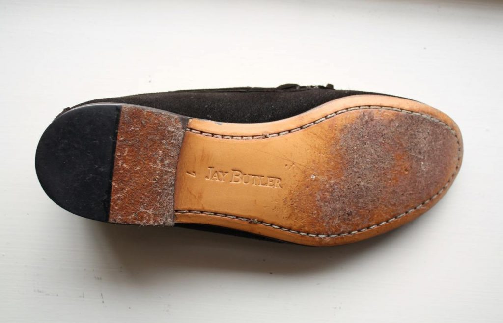 Shipley Tie loafer sole