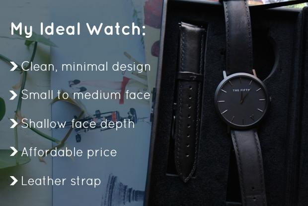 My ideal watch