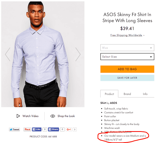 ASOS shirt fit 2