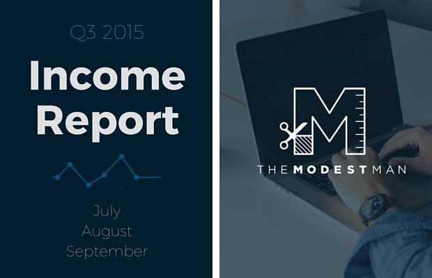 Income Report Q3 2015