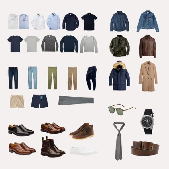 The Minimalist Mens Wardrobe