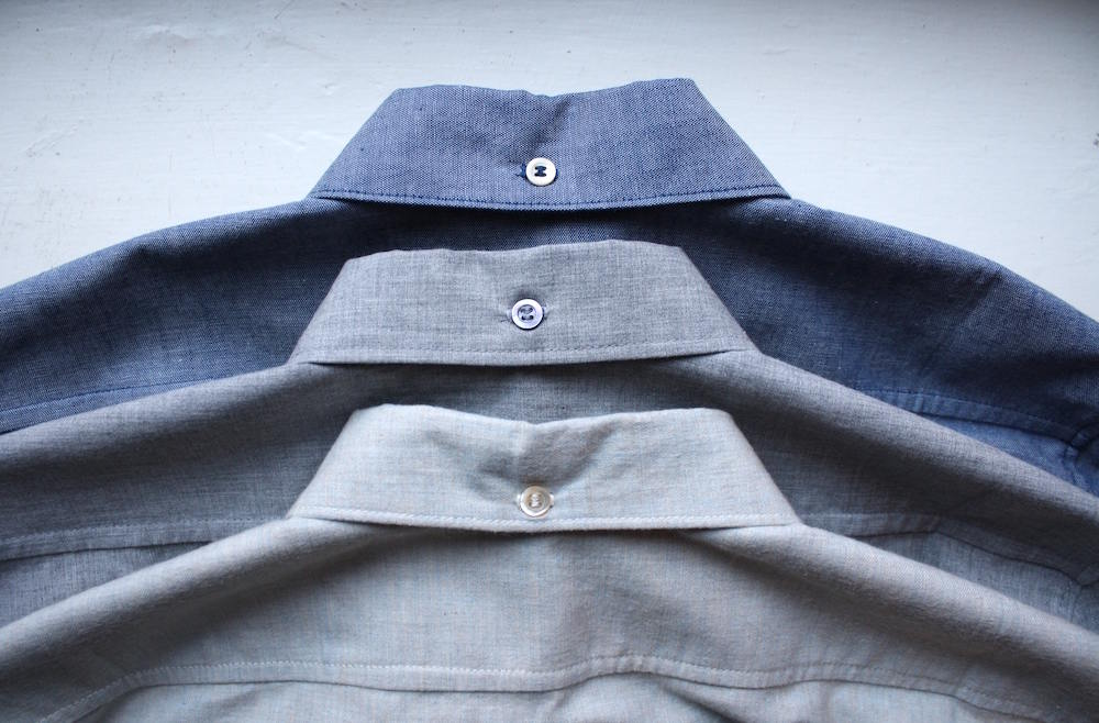 Third collar buttons
