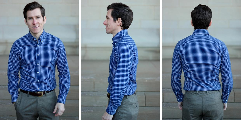 Silas Jackson shirt fit