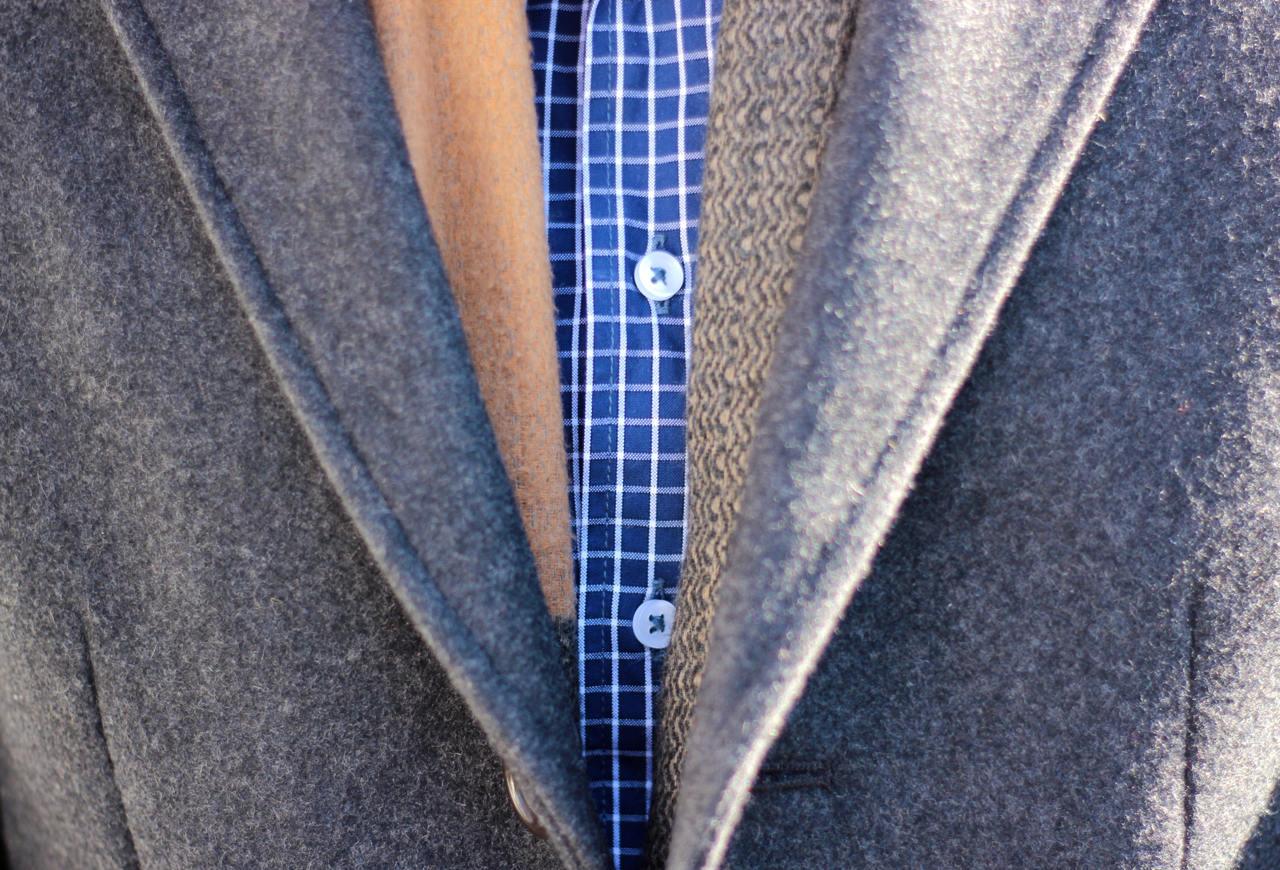 Silas Jackson shirt pattern close up