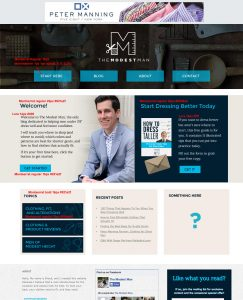 TMM new website mockup