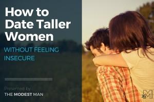 Dating taller women