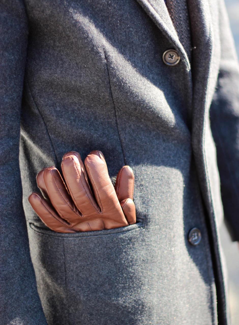 Gloves in pocket