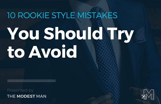 Rookie style mistakes
