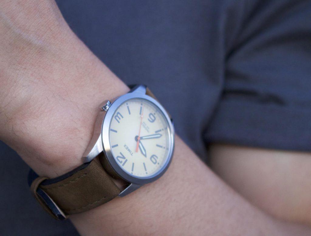 Timex Weekender detail