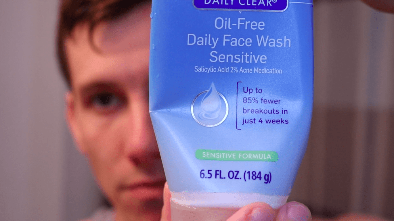Daily acne fighting face cleanser