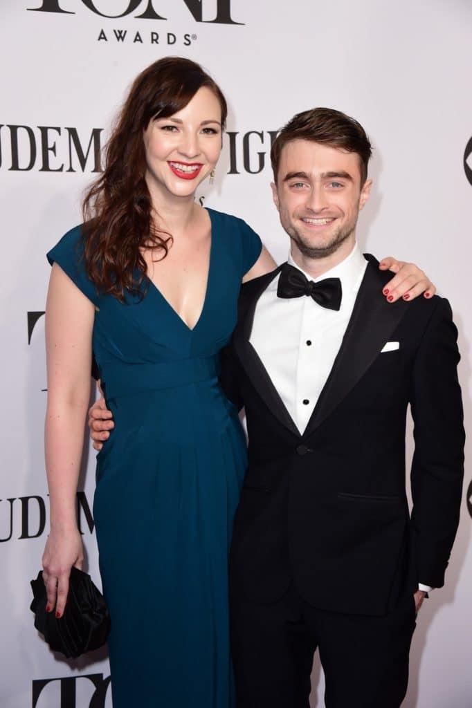 """Erin Darke (5'7"""") w/ Daniel Radcliffe (5'5"""")"""