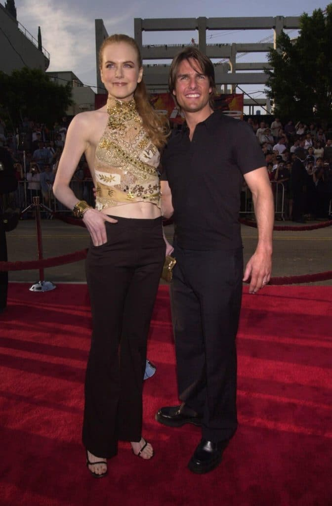 "Nicole Kidman (5'11"") w/ Tom Cruise (5'7"")"