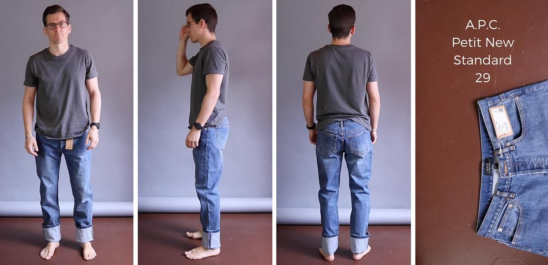 APC Petit New Standard Jeans