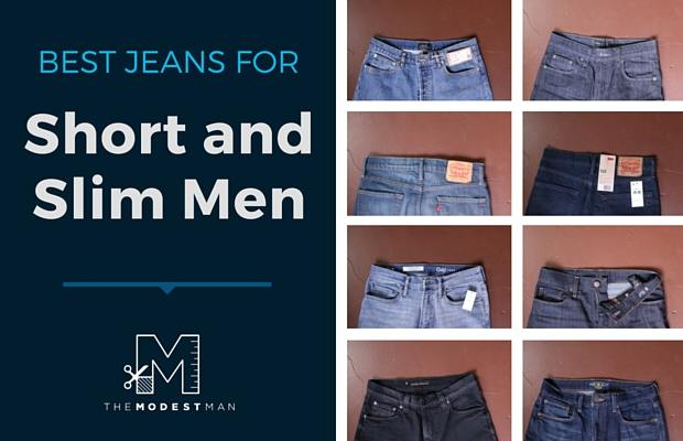 Best jeans for short and slim men