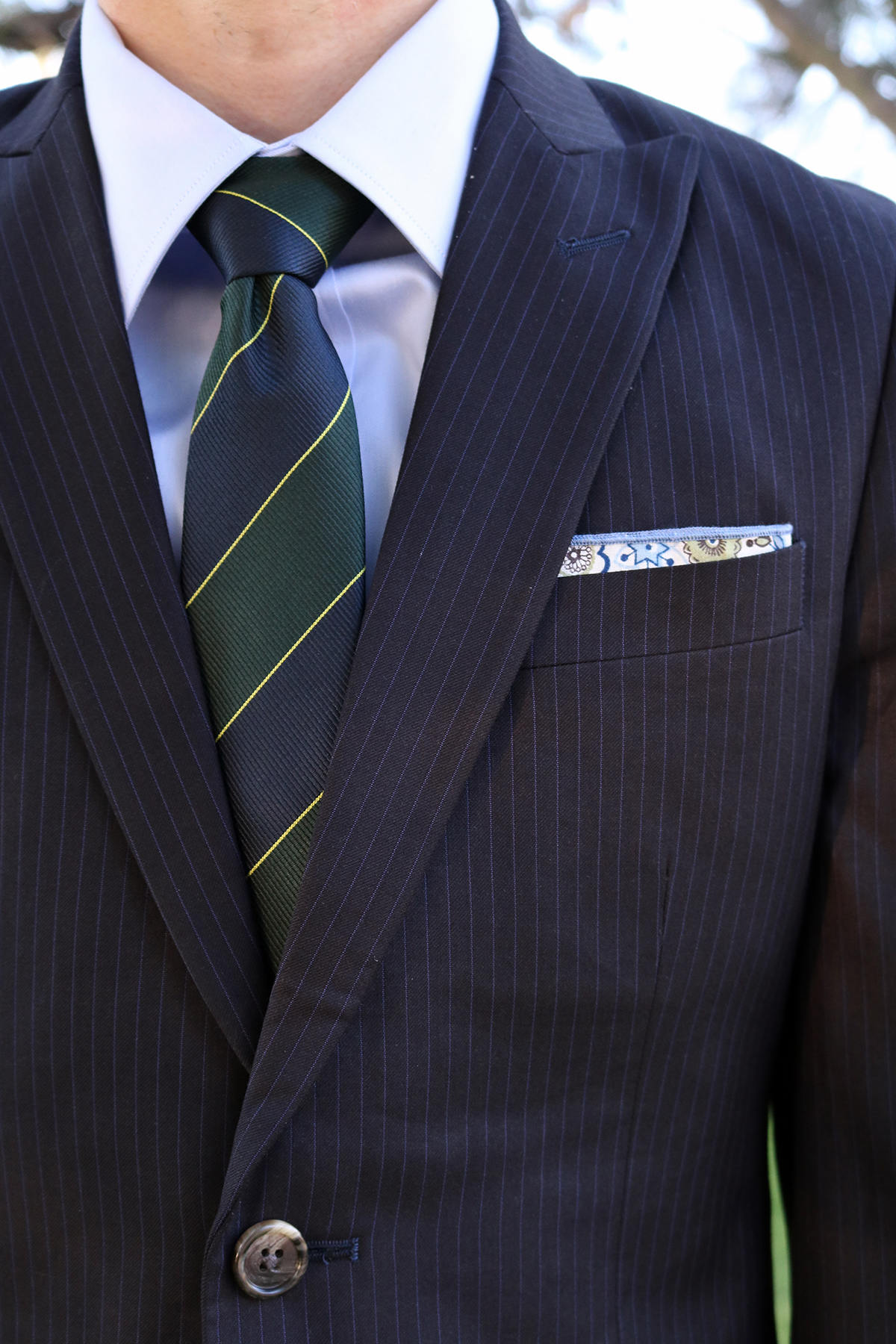 CottonBrew tie and pocket square