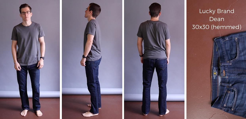 Lucky Brand Dean Jeans