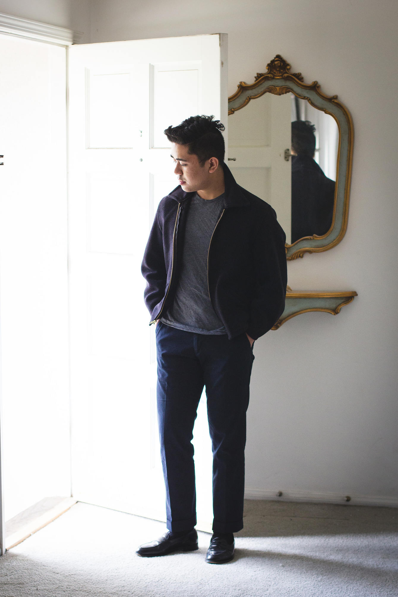 Ethan Wong casual style