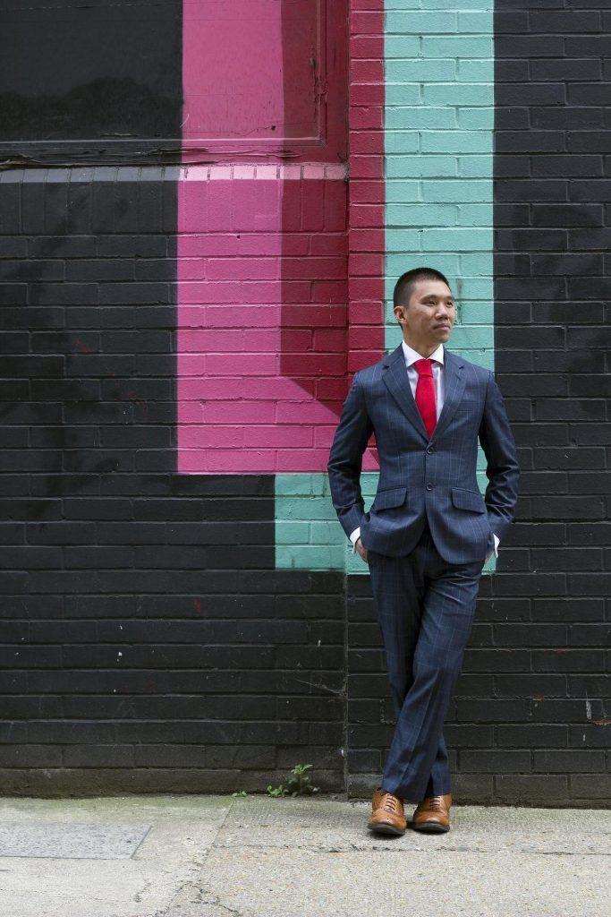 Ga Lok Chung in custom suit