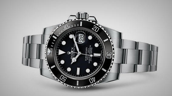 Rolex-Submariner-Date-Black-Face