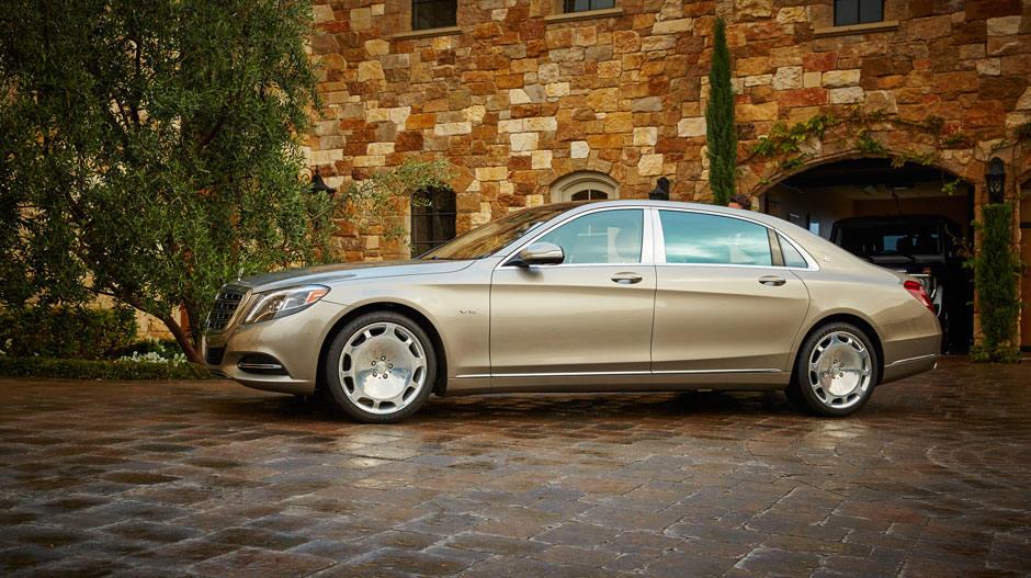 2016 Mercedes S Class exterior