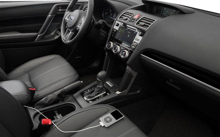 2017 Subaru Forester interior