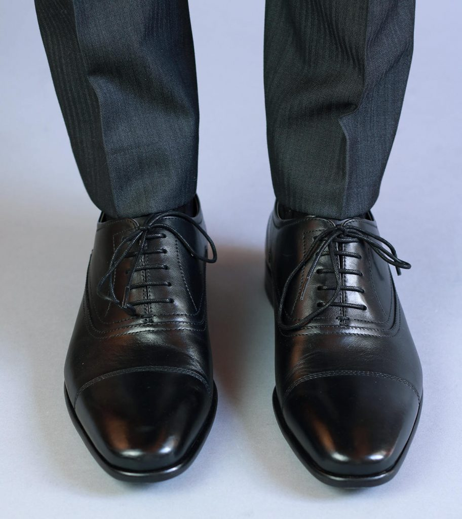 Black Hugo Boss Oxfords