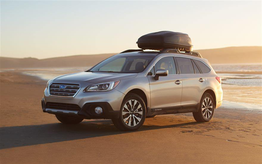 Subaru Outback 2017 exterior