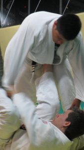 Brock training BJJ