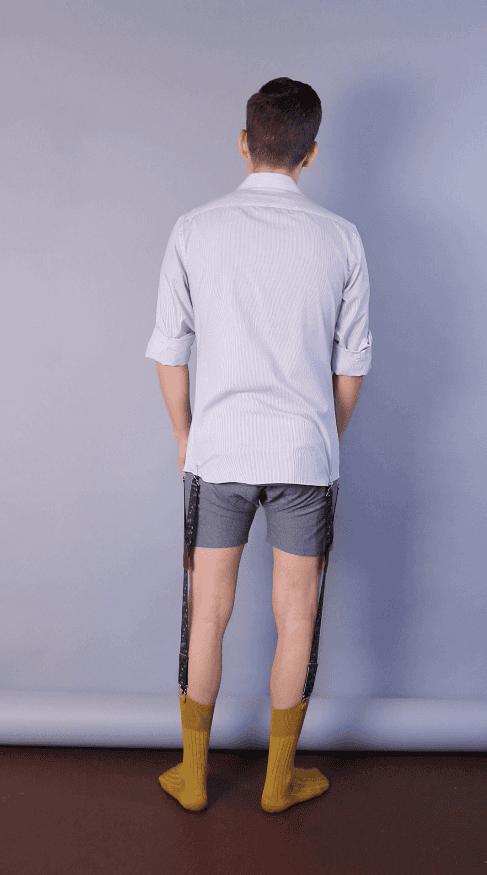 Shirttail garters